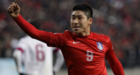 20130326 - South Korea vs Qatar - Lee Geun-Ho