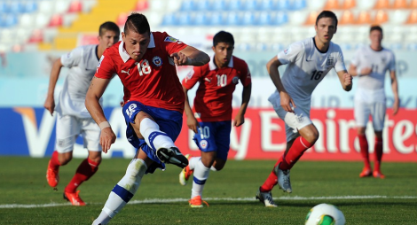 20130326 - Chile U20 Nicolas Castillo