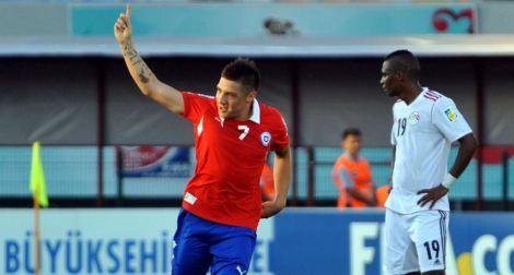 20130623 - Cristian Bravo - Chile Under-20