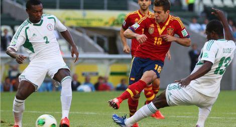 20130623 - Jordi Alba vs. Nigeria