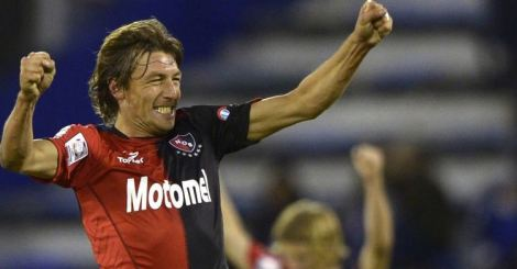 20130624 - Gabriel Heinze Newell's Old Boys