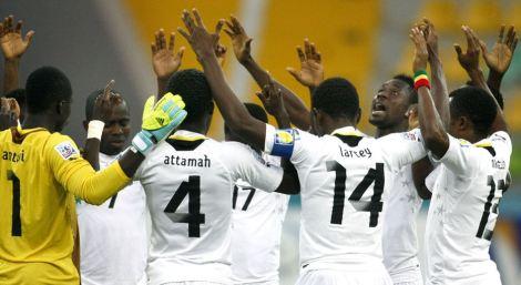 20130627 - Ghana Under-20s