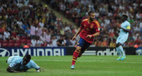 20130627 - Jese Rodriguez - Spain Under-20s