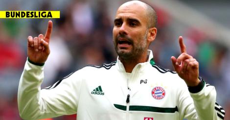 140813 - Pep Guardiola Bayern Munich