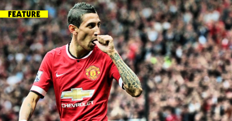 150525 - Angel Di Maria Manchester United
